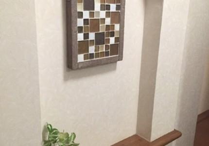 壁厚を利用した「ニッチ棚」