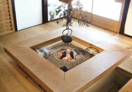 囲炉裏のあるお家の魅力