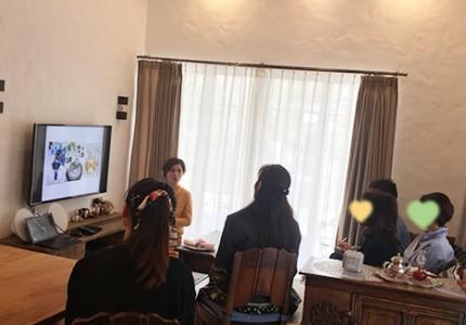 山本智子さんのテーブルコーディネート講座を開催しました!