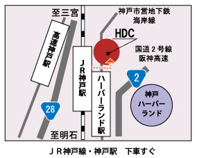 神戸店地図